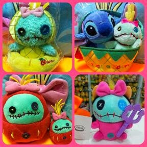 JAPAN DISNEY STORE STITCH + SCRUMP