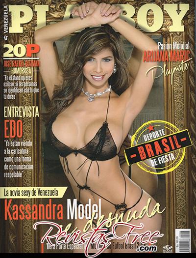 Playboy Venezuela Junho 2014 - Kassandra Model