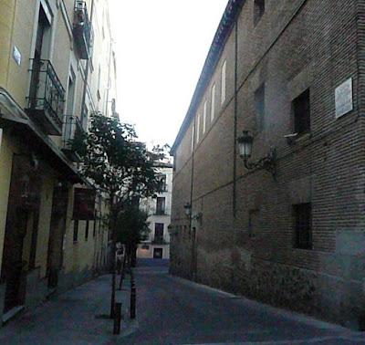 Madrid: calle en el barrio de las Letras