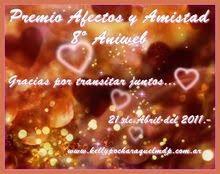 Premio Afectos y Amistad