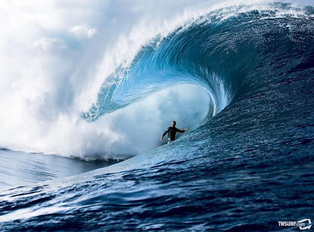 CJ Hobgood Surfing Teahupo from Transworld Surf