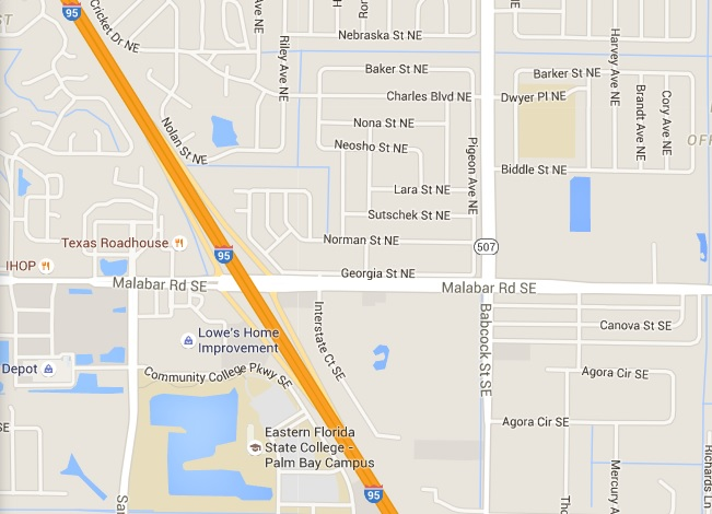 Overturned gasoline tanker causes road closures in palm bay for Department of motor vehicles palm bay florida