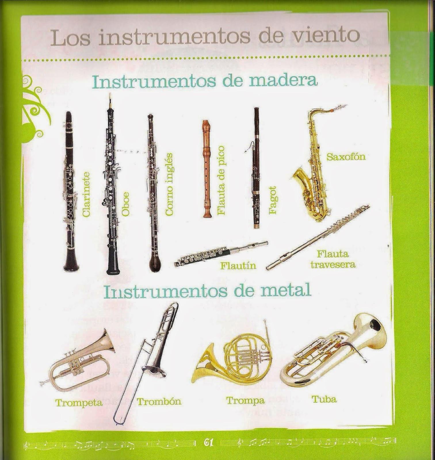 Los musiquitos 5 primaria la m sica del viento for La beta de la madera