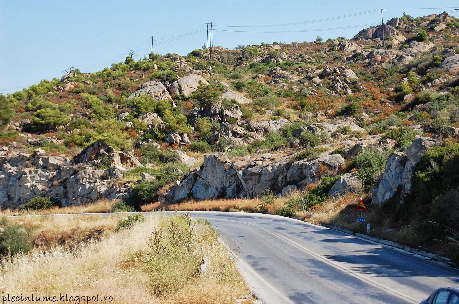 Drumul in Sithonia