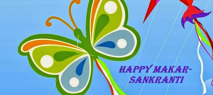 Happy Makar sankarati Kites Hd Images 2015