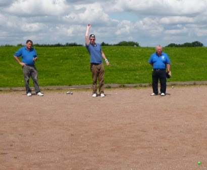 Playing Boules at Luton Petanque Club