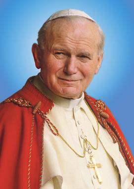 SAN JUAN PABLO II Papa N° 264. Fiesta 22 de Octubre.