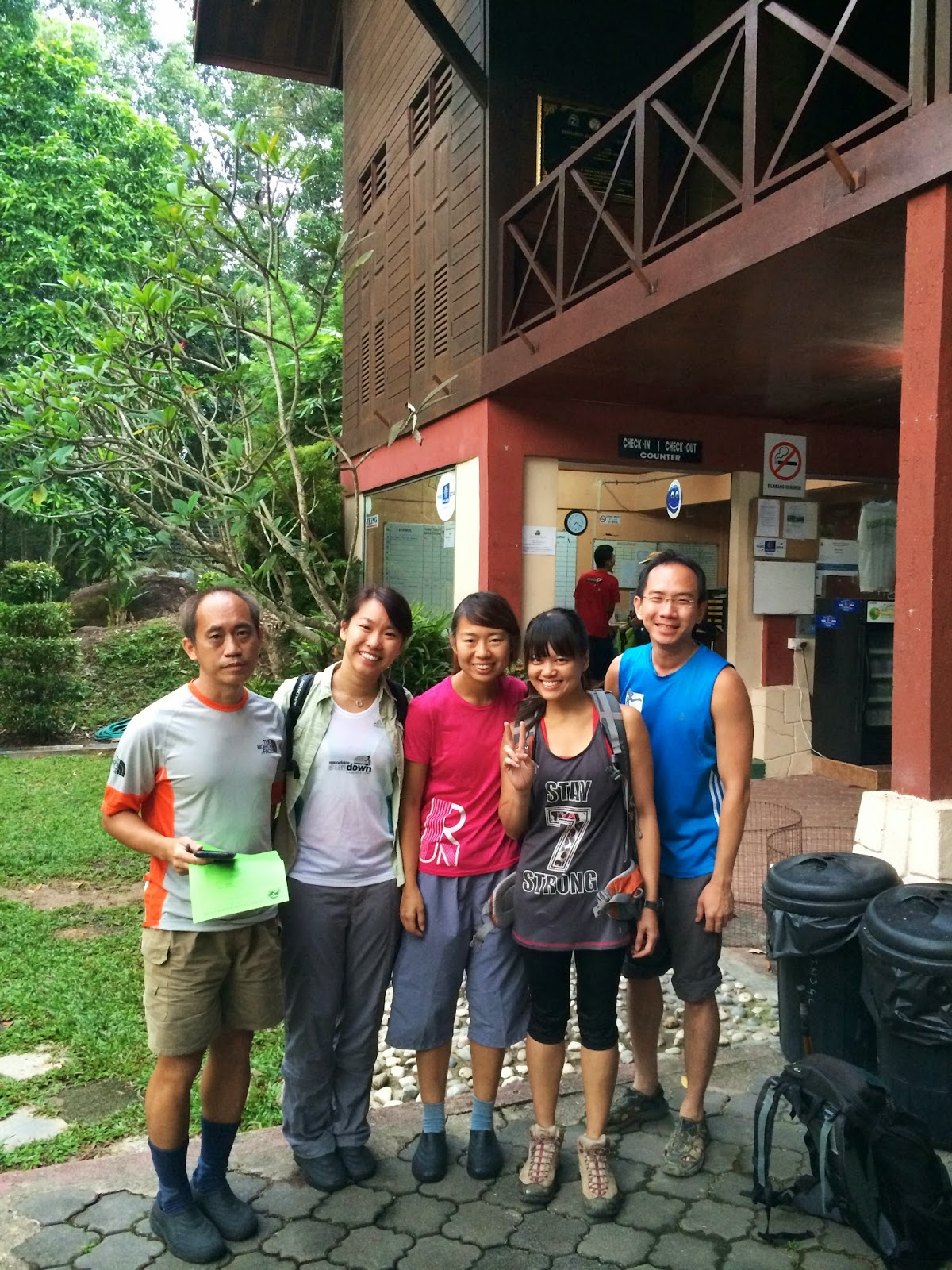 what to wear for hiking in singapore