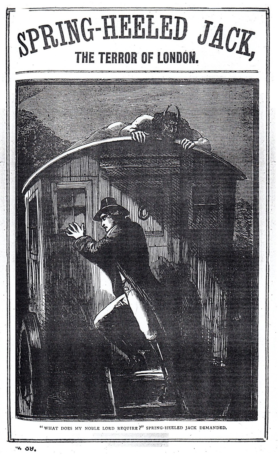a history of spring heeled jack of london Spring-heeled jack, the terror of victorian london see rare photos of london city history and culture london is a leading global city, in the arts, commerce.
