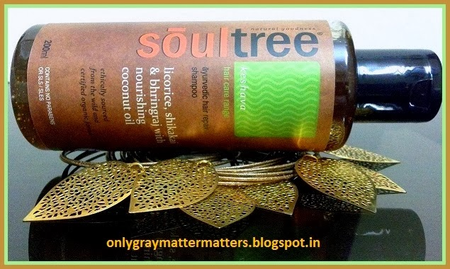 Soultree licorice hair repair sulphates free shampoo review