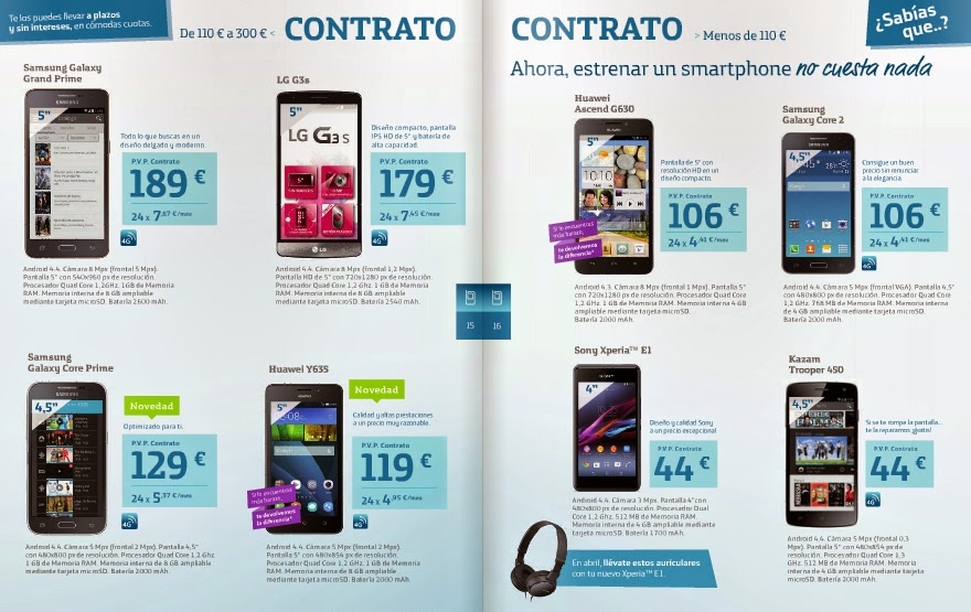 Catalogo movistar abril