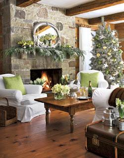 Cores de árvores de natal