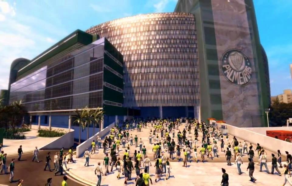 Nova arena multiuso do Palmeiras