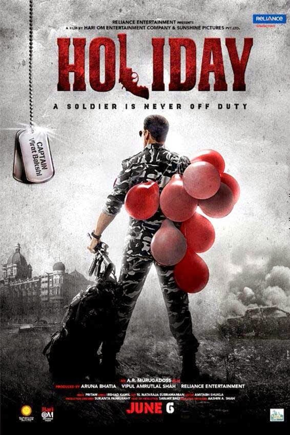 Holiday First Look Poster - Akshay Kumar