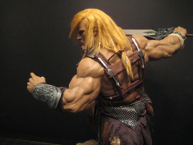 Maneirissima escultura do He-Man 1
