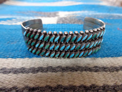 NAVAJO SILVER BANGLE