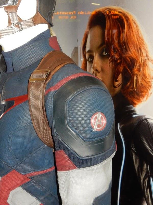 Captain America Avengers insignia costume detail