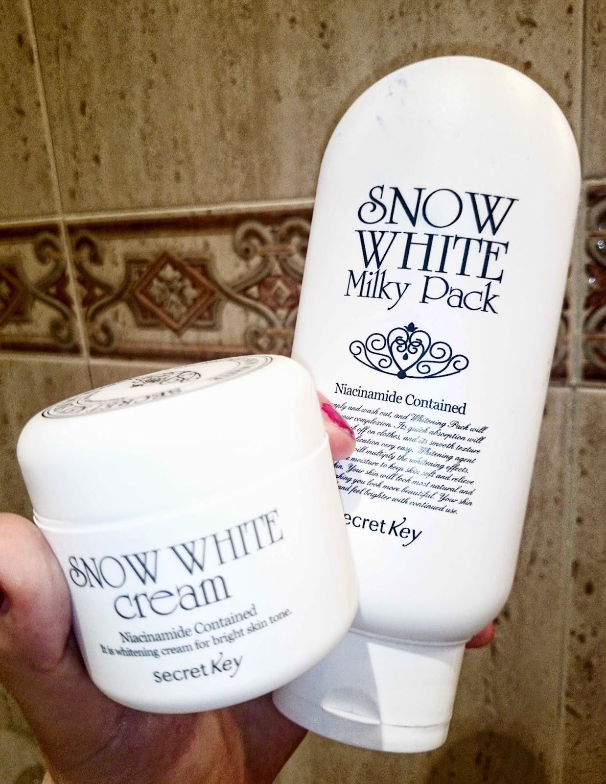 snow white milky pack de secret key