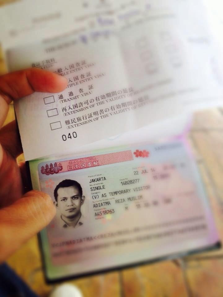 Langkah apply Visa Jepang dengan budget pas pasan bagi Wirausaha