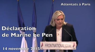 VIDEO-Déclaration de Marine Le Pen suite aux attentats de Paris dans Europe marine%2Ble%2Bpen%2Battentats%2Bparis%2B14%2Bnovembre%2B2015