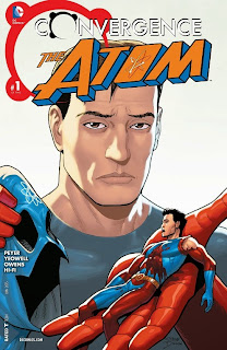 Cover of Convergence: The Atom #1 from DC Comics