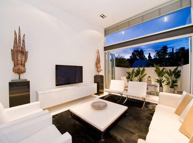 decoracao branca sala : decoracao branca sala:Vamos ver algumas decorações com detalhes para quebrar o branco
