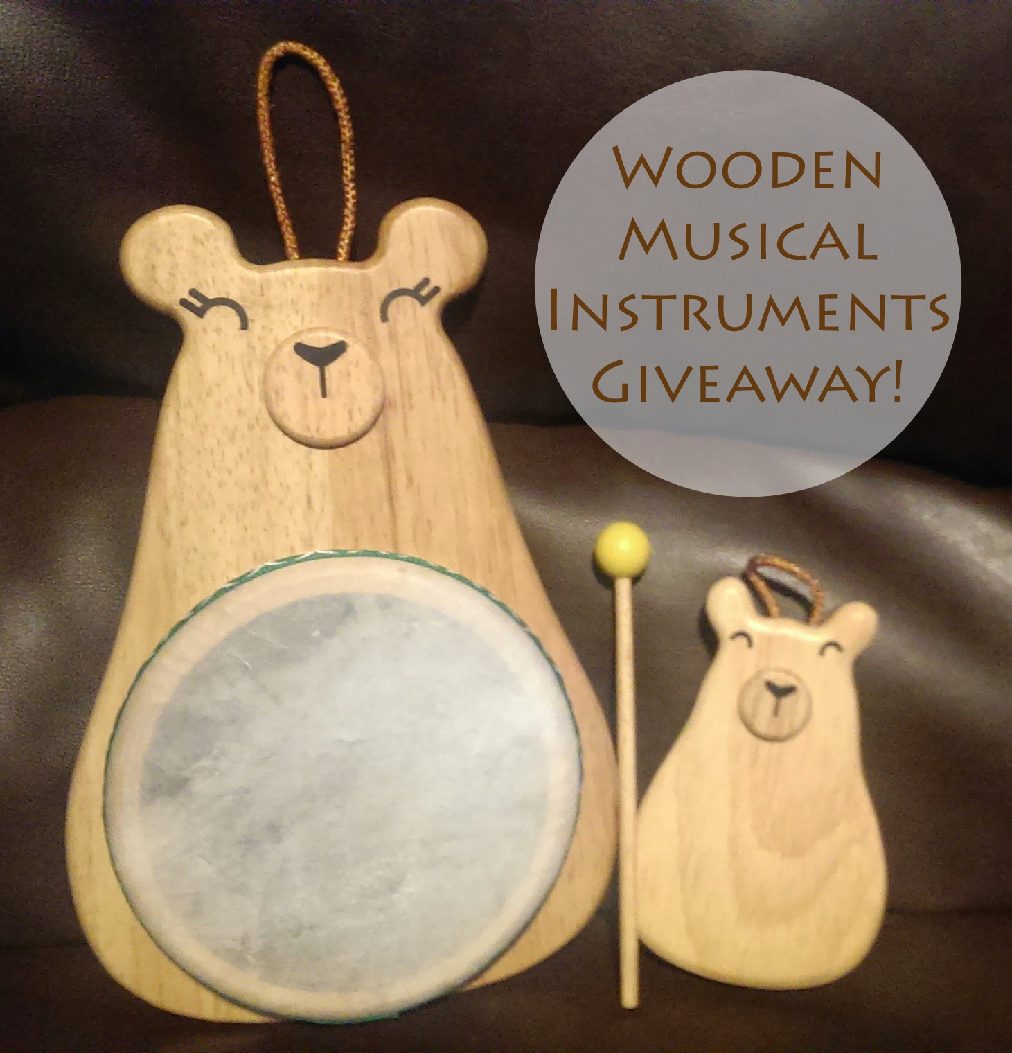 Green Tones Eco-Friendly Wooden Instruments Giveaway