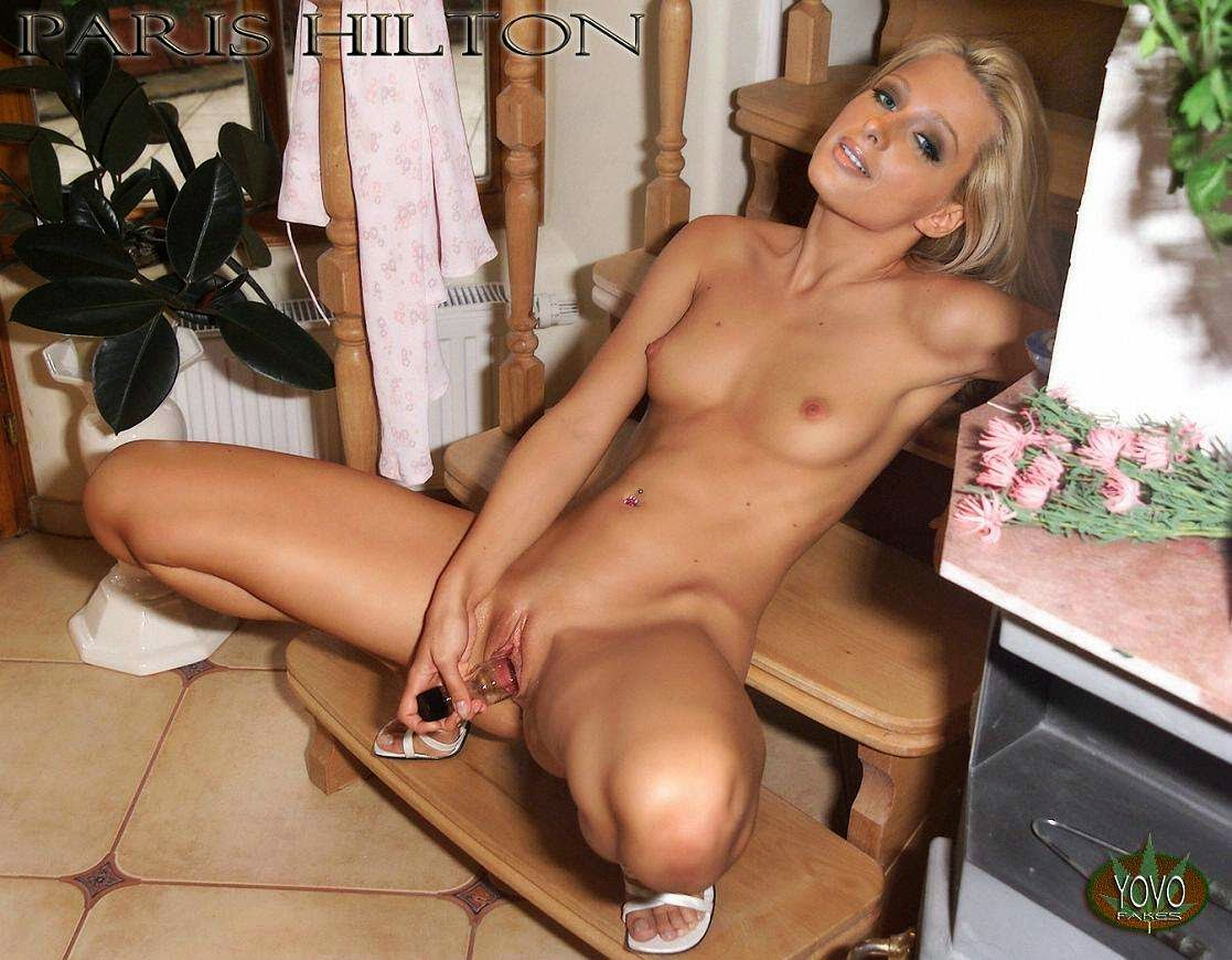 Paris hilton buck naked