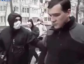 Castigo a un Pedofilo en Directo