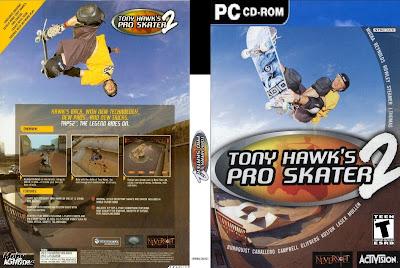Tony Hawks Pro Skater 2 PC DVD Capa