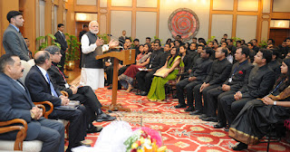 PM Narendra Modi IAS officers BrightSparks blog PT education Sandeep Manudhane SM sir Indore