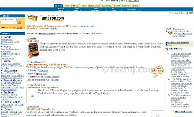 Amazon Old Design