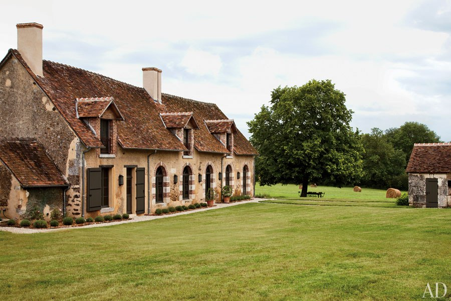 Designer Jean Louis Deniot And His Sister Virginie Recast An 18th Century Loire Valley Farmhouse As Understated Elegant Haven For Her Family