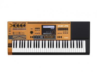 dan organ Casio XW-P1COK