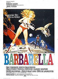 Duran Duran band name origins - Barbarella-french-film-poster