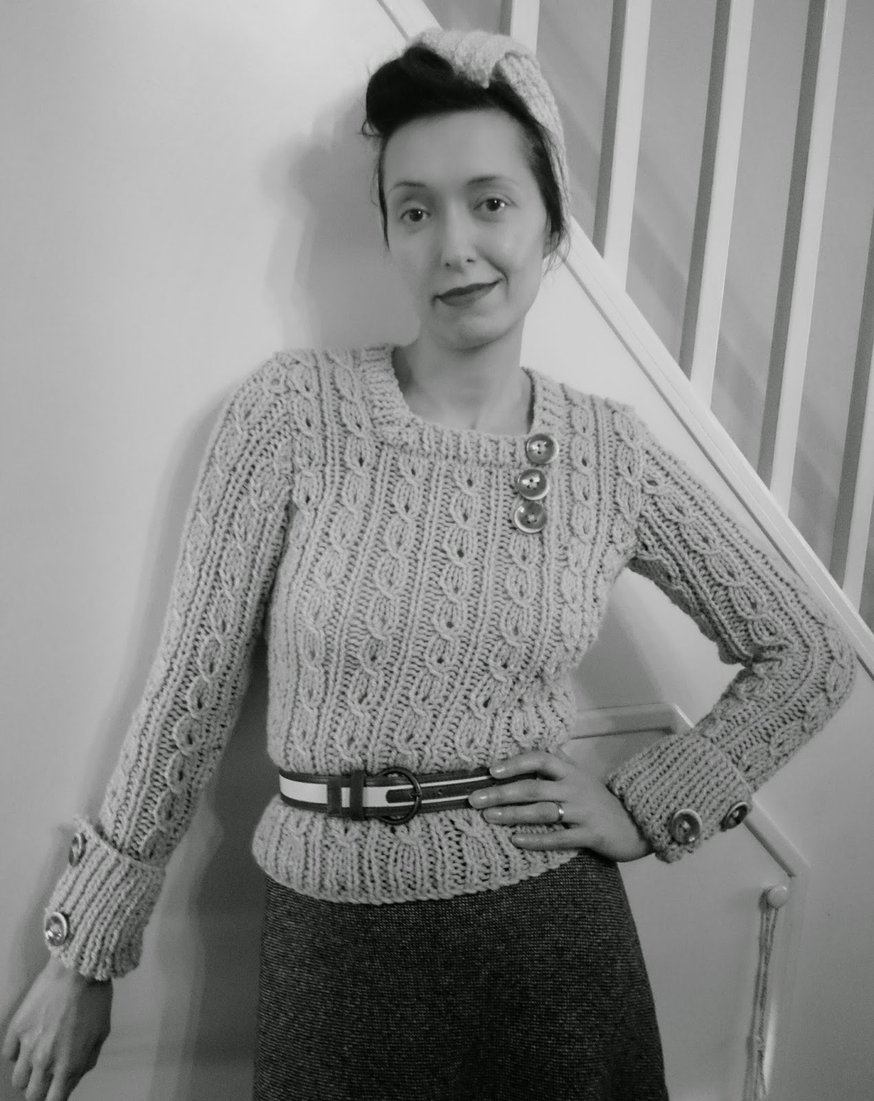 Theodora Goes Wild: Free Pattern Friday - Jumper in Thick Wool and ...