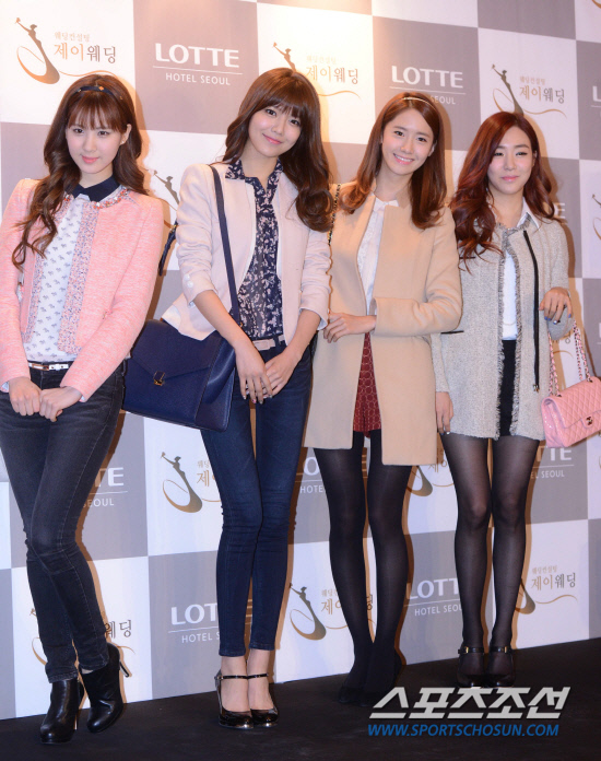 Girls Generation at Wonder Girls Sunye wedding