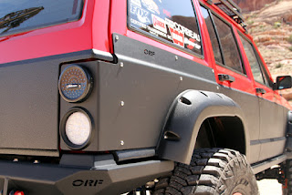 OR-Fab Jeep XJ Rear Quarter Armor