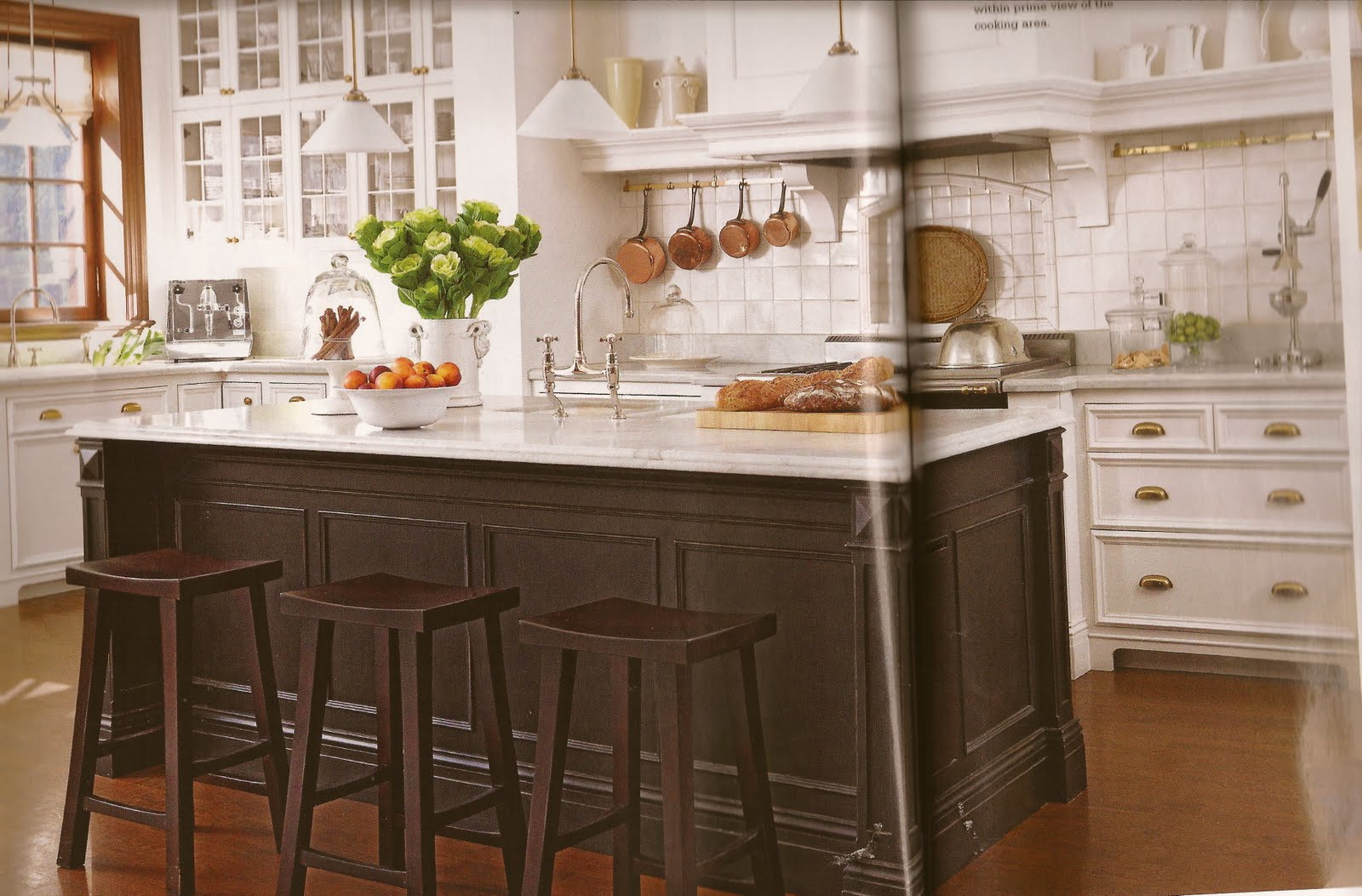 Country french belclaire house for Country kitchen cabinets