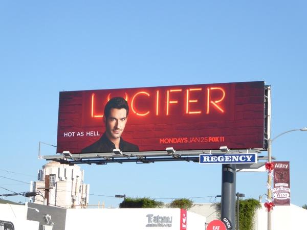 Lucifer series premiere billboard