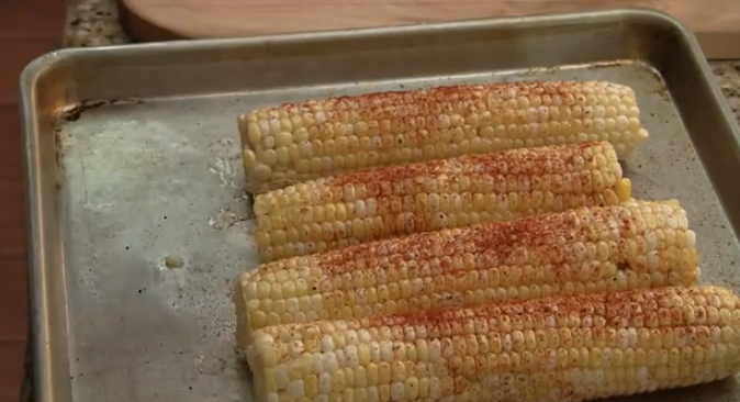 Eat Groovy: Chile Lime Grilled Corn on the Cob