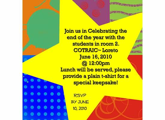 Year End Party Invitation Wording Ideas – End of the Year Party Invitation Wording