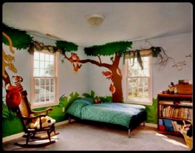 unique bedroom wall paint ideas