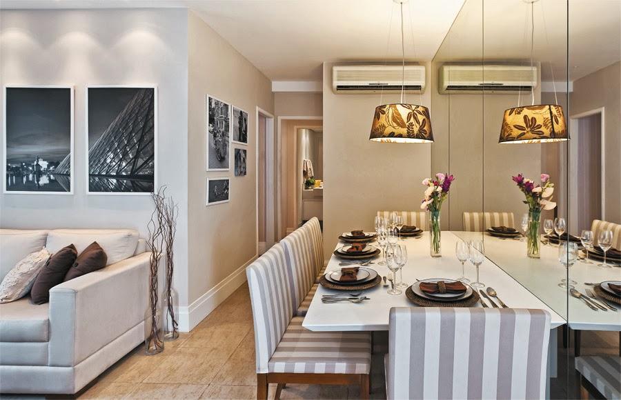 Decorar Sala De Apartamento Pequeno ~ Nessa sala, imagino que a mesa, eventualmente possa ser afastada