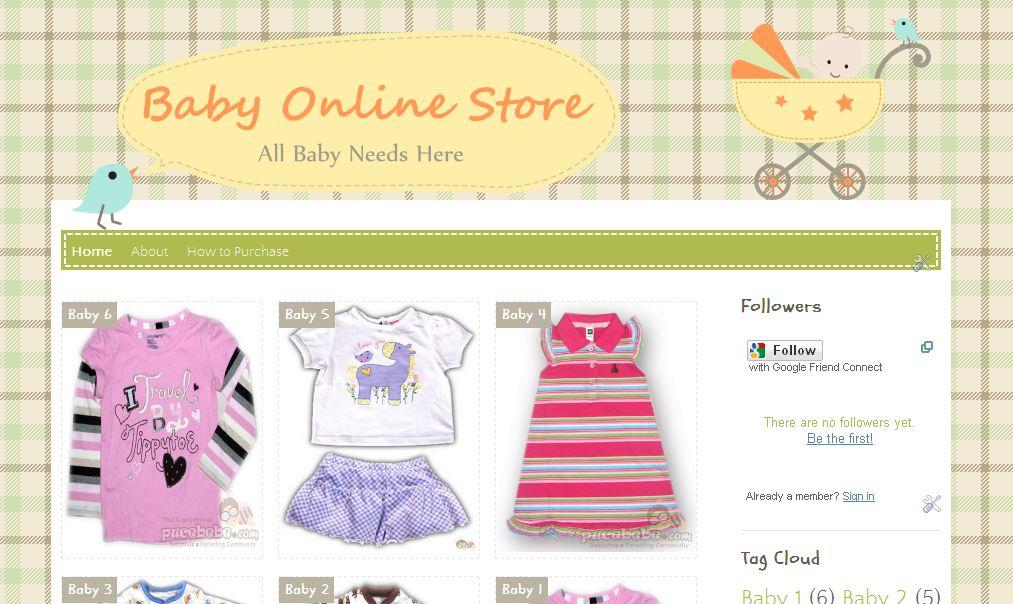 baby shop online