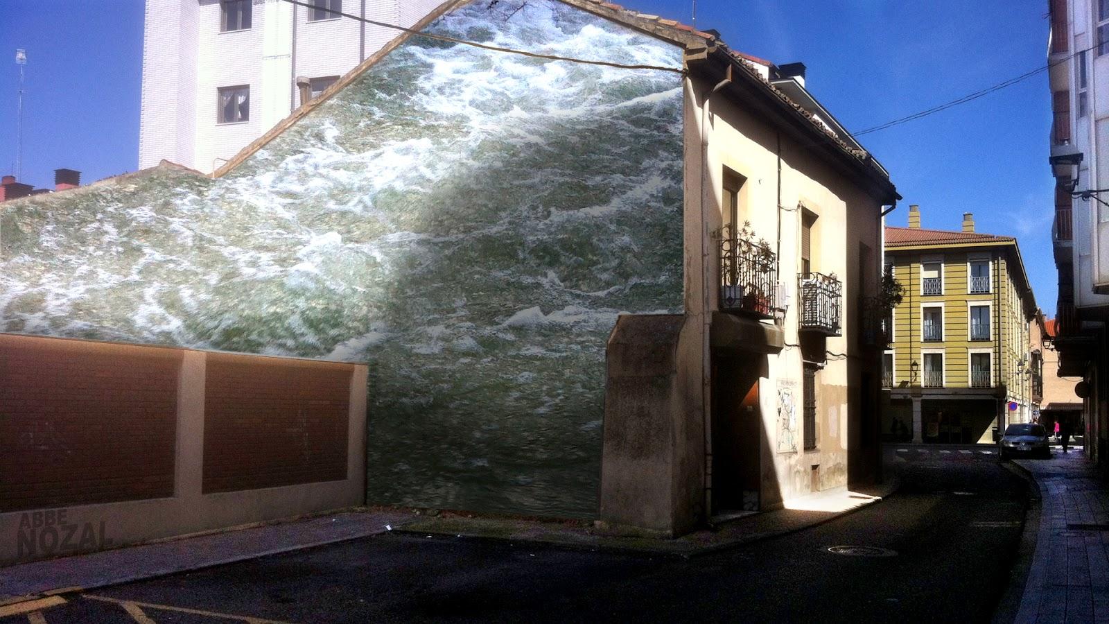 Medianera en alta mar, 2014 Abbé Nozal