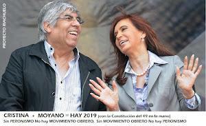 CRISTINA + MOYANO = HAY 2019