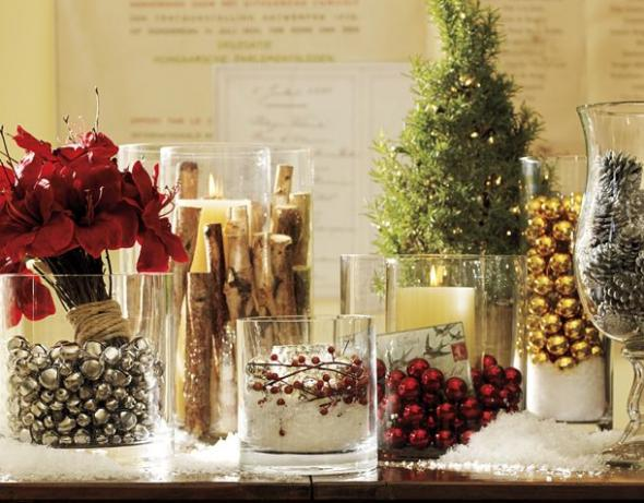 Fairytales & Chandeliers: Christmas Wedding Centerpiece Inspiration