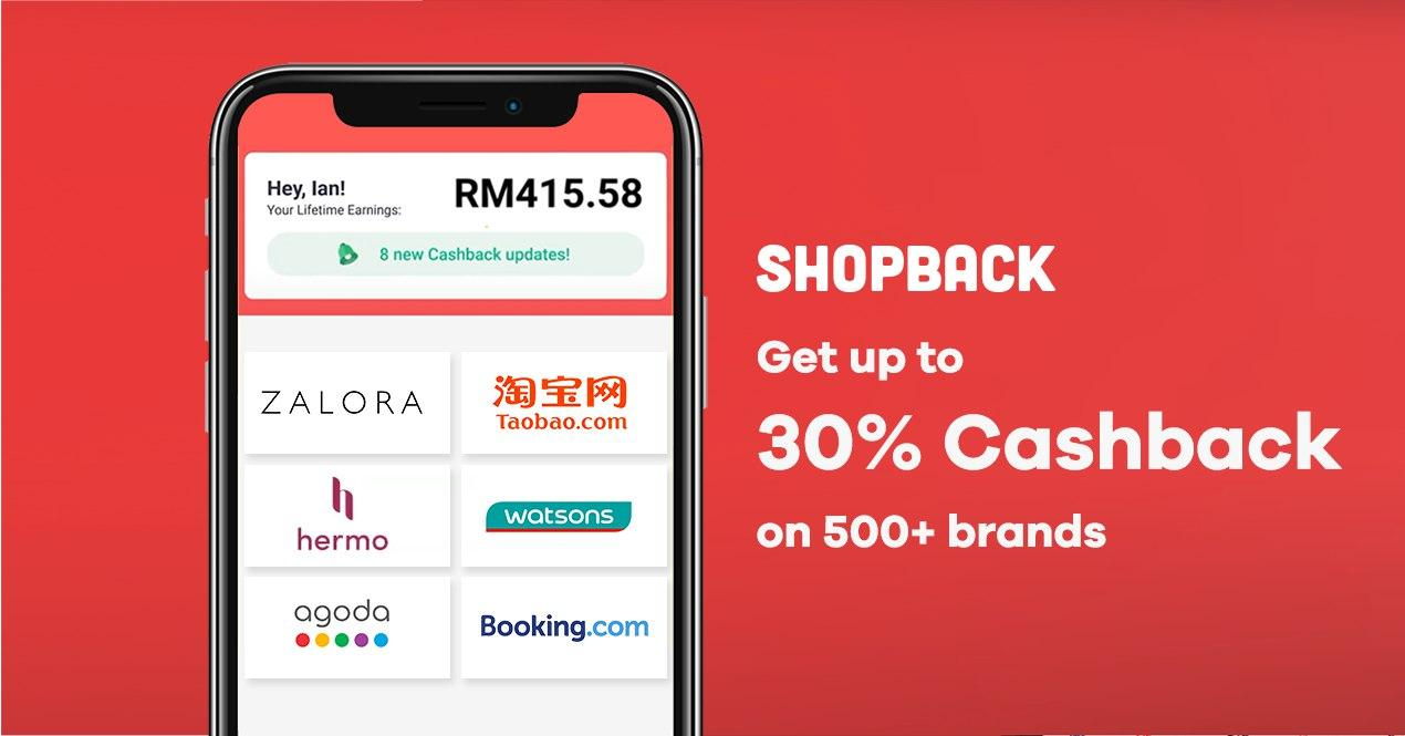 I'm giving you RM5 when you sign up with ShopBack Ref. Code 0Miubd