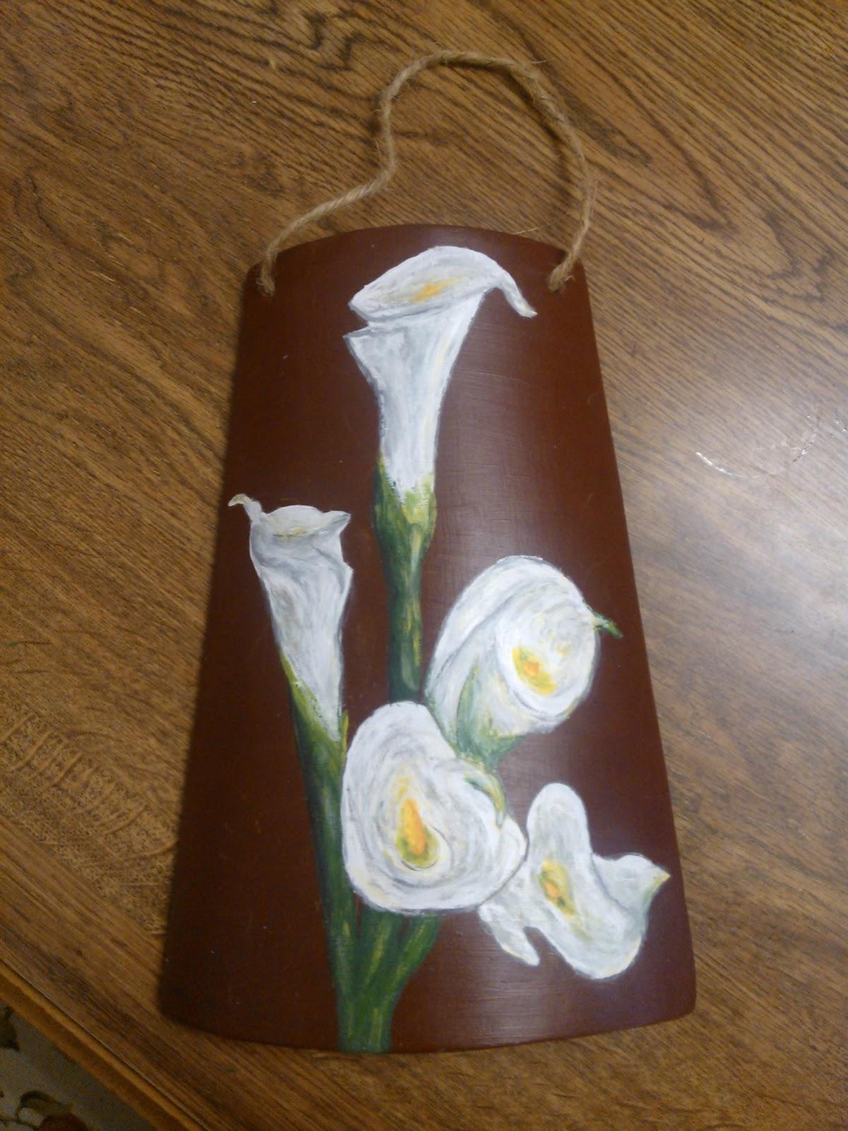 Manualidades tejas pintadas - Accesorios para decorar tejas ...